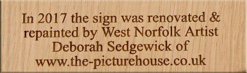Wooden Office Door Signs & Engraved Plaques | The Sign Maker Shop
